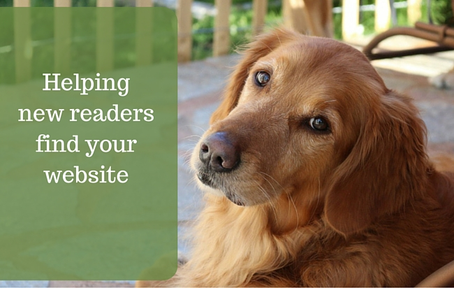 Help Readers Find Your Website