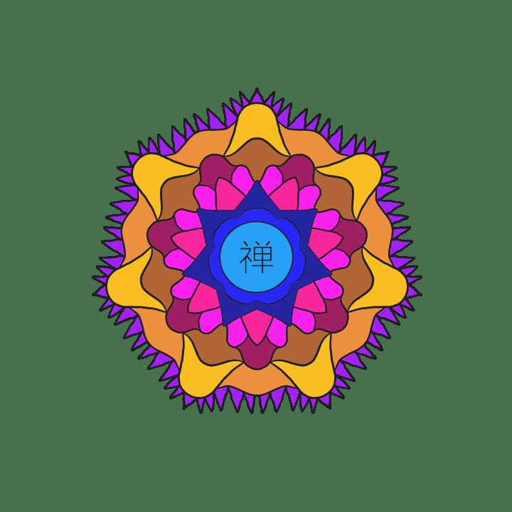 Chan Symbol Orange Petal Contrast