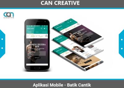 Aplikasi Mobile Batik Cantik