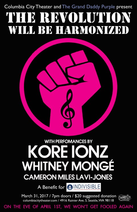The Revolution Will Be Harmonized with Kore Ionz, Whitney Monge and Cameron Lavi-Jones