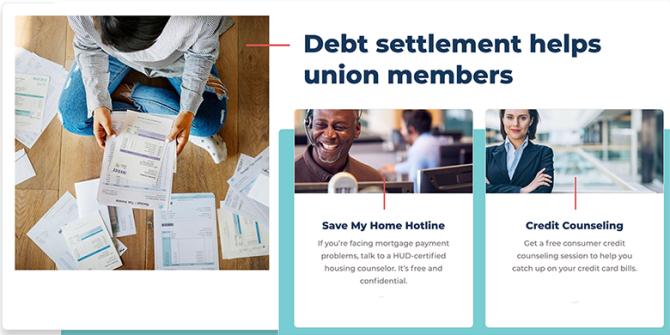 Debt Settlement Graphic