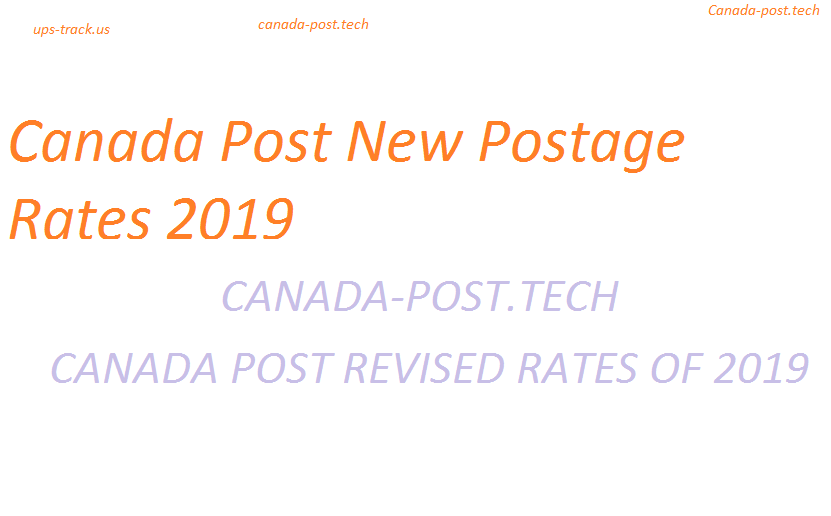 What are the New Postage Rates Canada from 2019? | Canada