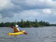 Exploring Newboro Lakes Islands