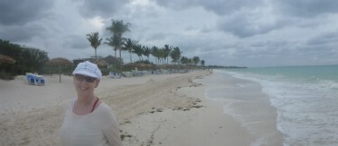 A windy evening on the beach, Cayo Coco