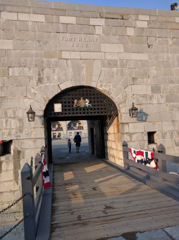 Entrance to Fort Henry