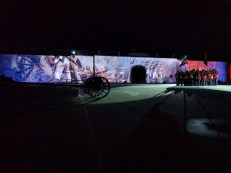 Sunset Ceremony at Fort Henry