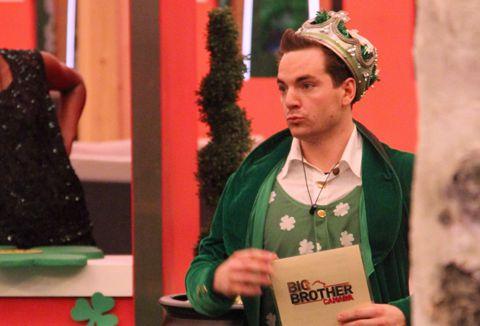 Tom on Big Brother Canada