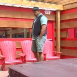 Big Brother Canada 2 - Paul pacing after Veto meeting