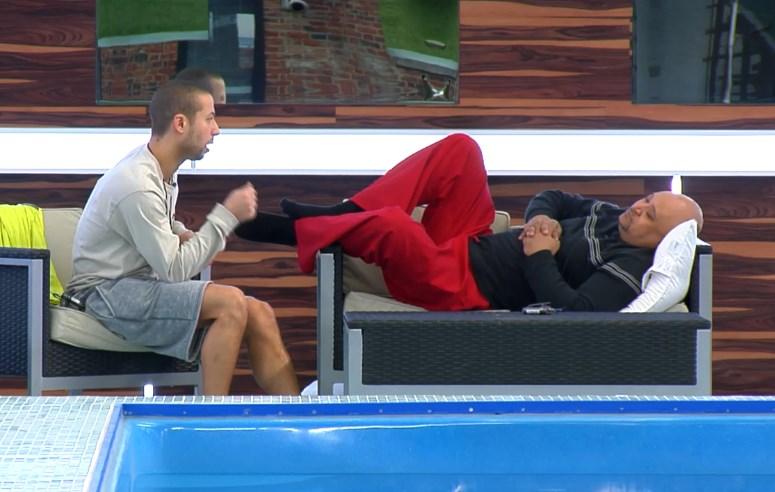 Adel talking to Paul