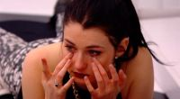 Rachelle crying on Big Brother Canada
