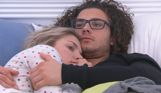 Jared and Kelsey look worried about his chances