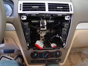 20062009 Ford Fusion and Mercury Milan Car Audio Profile