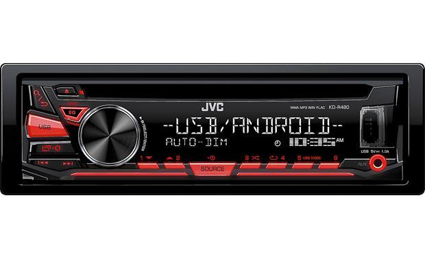 Jvc Kd R480 Cd Receiver At Crutchfield Canada