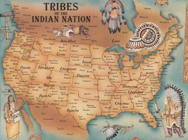 Tribes Of The Indian Nation