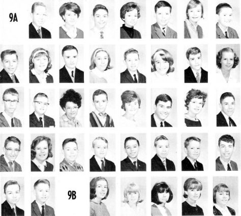 46 years ago - Hillcrest High School 1965 Class 9A - see if you can find me