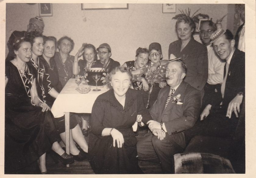 New Years Eve 1956 - Cuxhaven -Germany