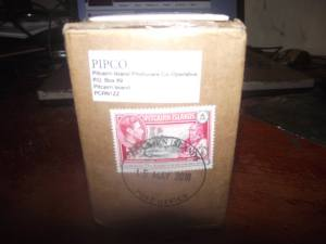 The honey I ordered from Pitcairn Island has finally arrived. Took 5 months to get here.