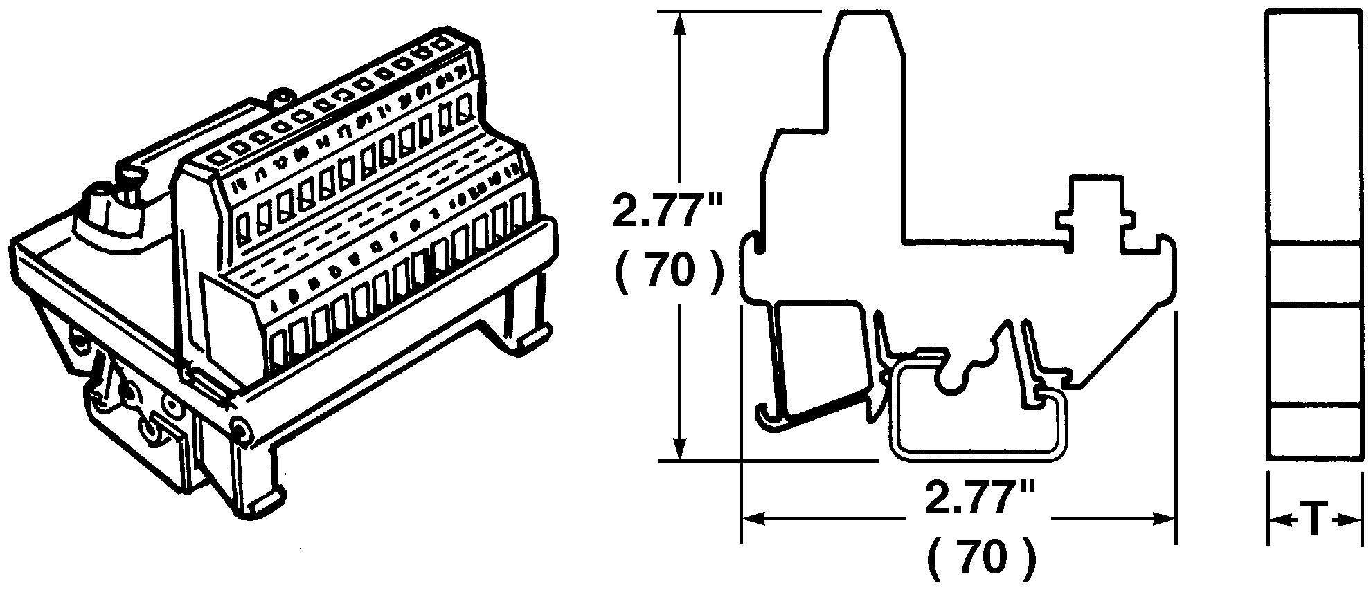 Weidmuller Terminal Block Interface D Sub 9