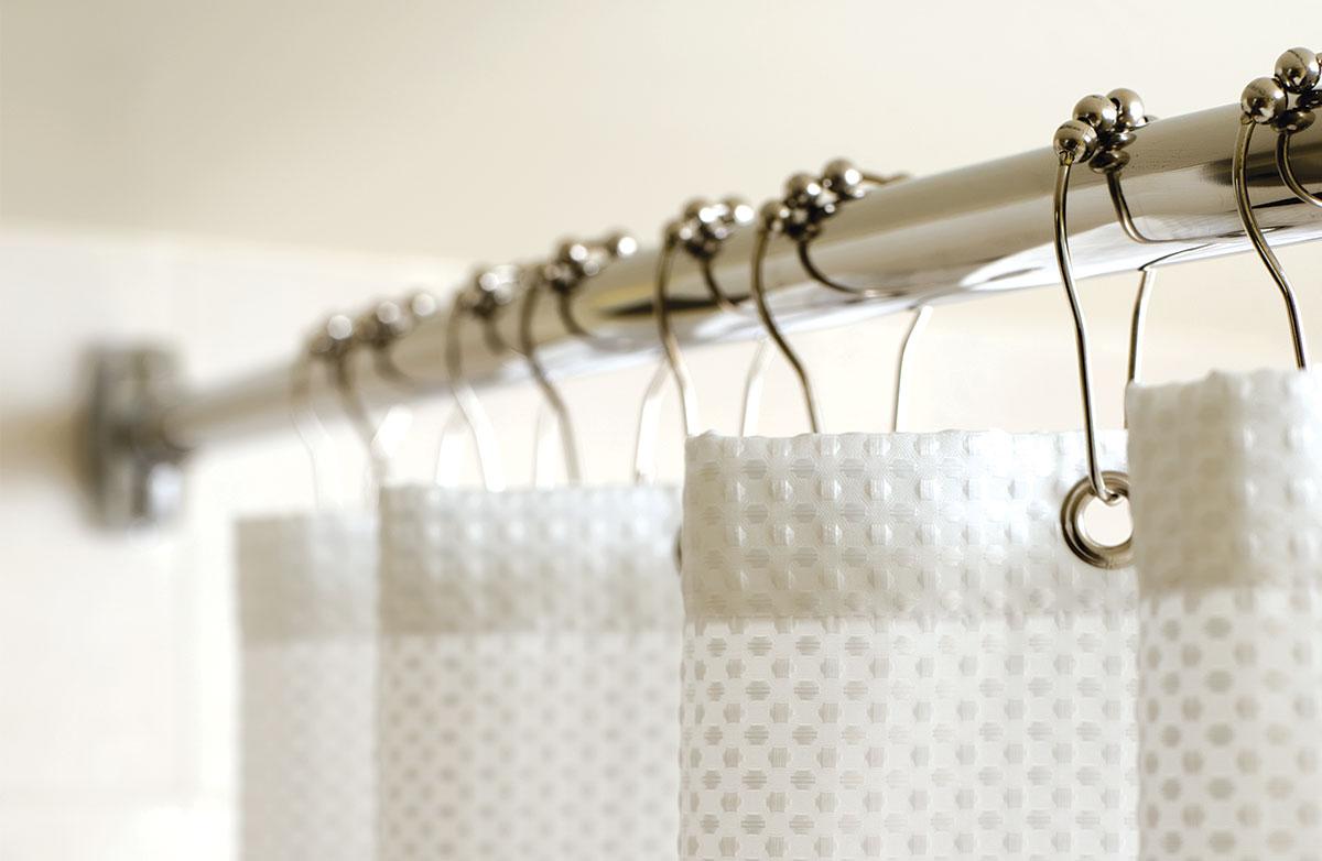 marriott curved shower rod