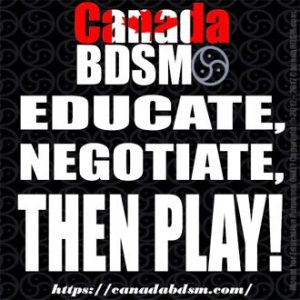 Educate, Negotiate, THEN PLAY!