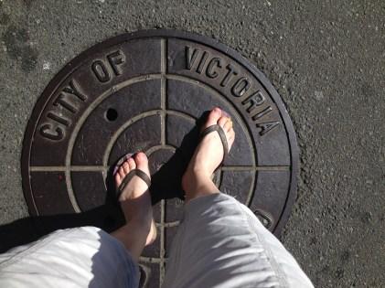 Victoria manhole