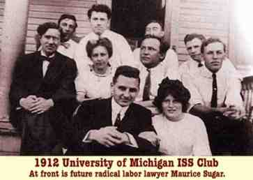 The University of Michigan ISS Chapter, pictured above as it was in 1912