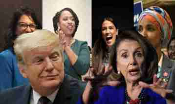 Trump Proves that Pelosi & Four Progressive Radicals Aren't Fighting Each Other, But Fighting FOR Each Other