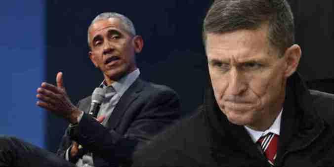 Obama Says Gen. Flynn's Dismissal Endangers Rule Of Law