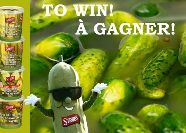 Strubs Pickles National Pickle Day Contest