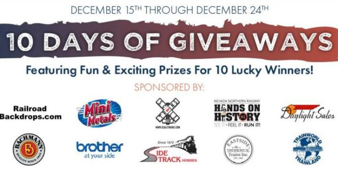 10 Days of Giveaways Sweepstakes