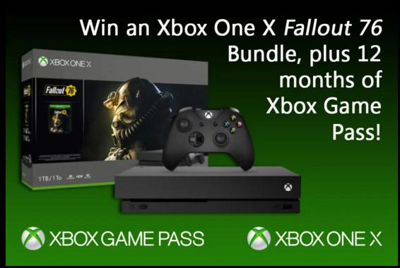 12 Months Of Xbox Game Pass Giveaway