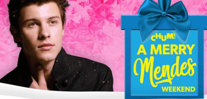 CHUM 104.5 A Merry Mendes Weekend Contest