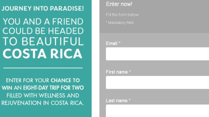Canadian Living Trip to Costa Rica Contest