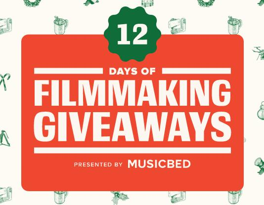 Music Bed 12 Days of Filmmaking Giveaways