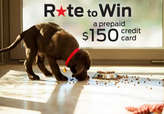Purina Rate To Win 2019 Contest