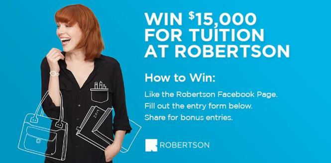 Robertson Tuition Contest