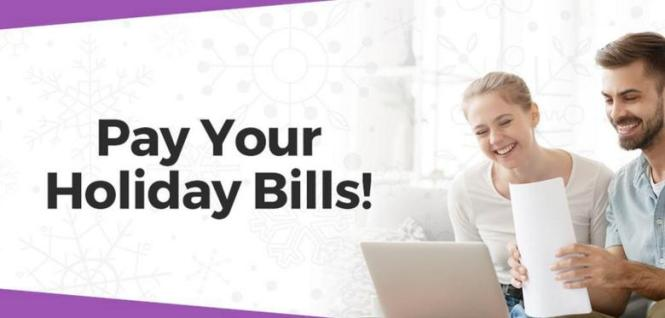 102.9 K-Lite Pay Your Holiday Bills Contest