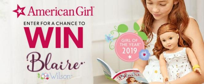 American Girl Blaire Wilson Dolls, NEW Girl Of The Year Contest
