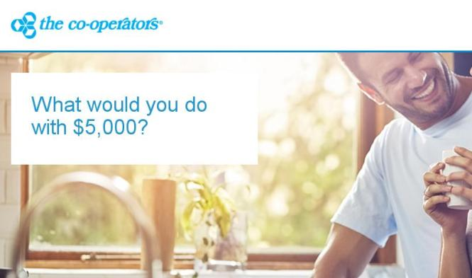 Co-operators Life Insurance What Would You Do With $5K Contest