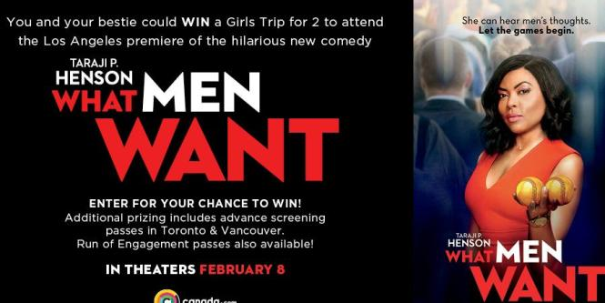 The What Men Want Contest