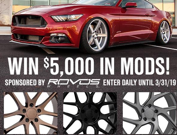 Turn 5 $5,000 Rovos Giveaway