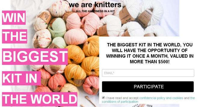 We Are Knitters Biggest Kit Giveaway