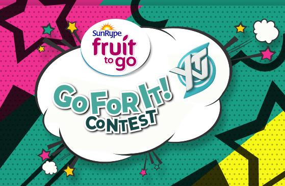 YTV Sunrype Fruit To Go For It Contest