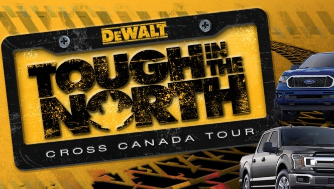 Dewalt Tough In The North Sweepstakes