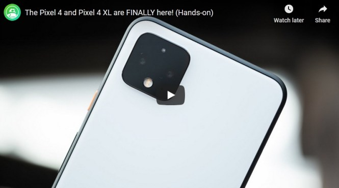 Android Authority Google Pixel 4 International Giveaway