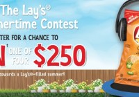 The Lays Summertime Contest