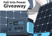 Generark Fall Into Power Giveaway