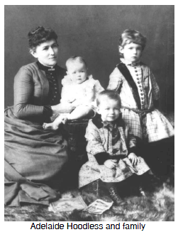 Adelaide Hoodless and family