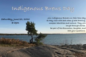 Indigenous Brews Day 2020
