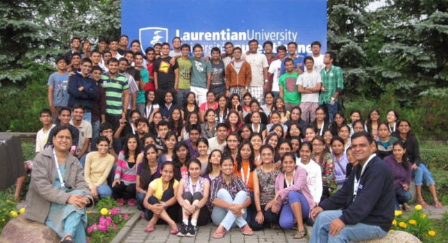 First Report of the Arrival of Students and Faculty Members at Laurentian University, Sudbury, Ontario, Canada